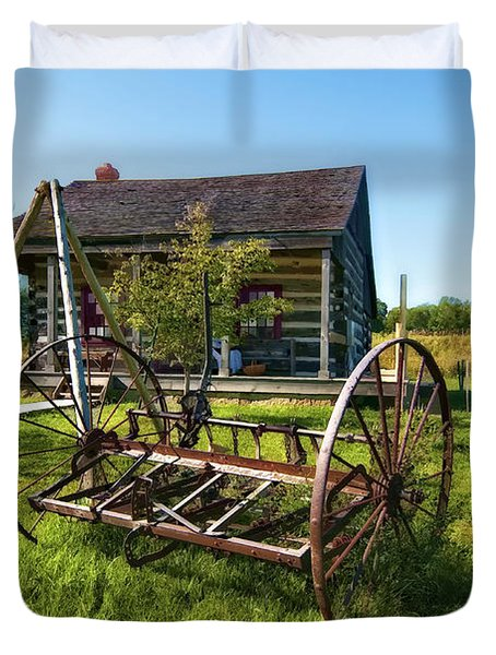 Country Classic oil Duvet Cover by Steve Harrington