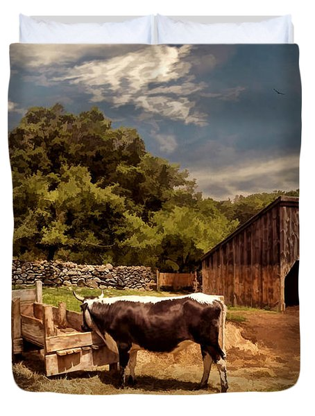 Country Life Duvet Cover by Lourry Legarde