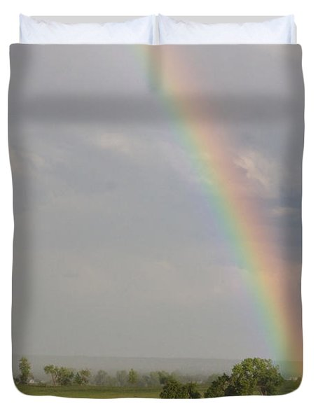 Country Rainbow Duvet Cover by James BO  Insogna