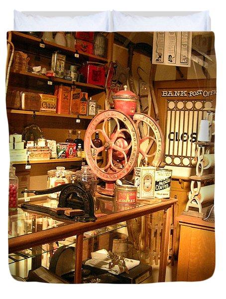 Country Store 1 Duvet Cover by Douglas Barnett