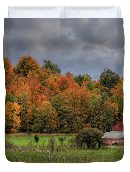 Country Time Duvet Cover by Lori Deiter