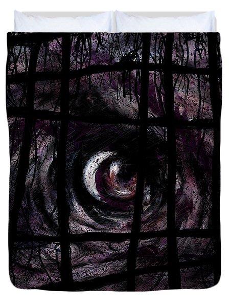 Creature Duvet Cover by Rachel Christine Nowicki