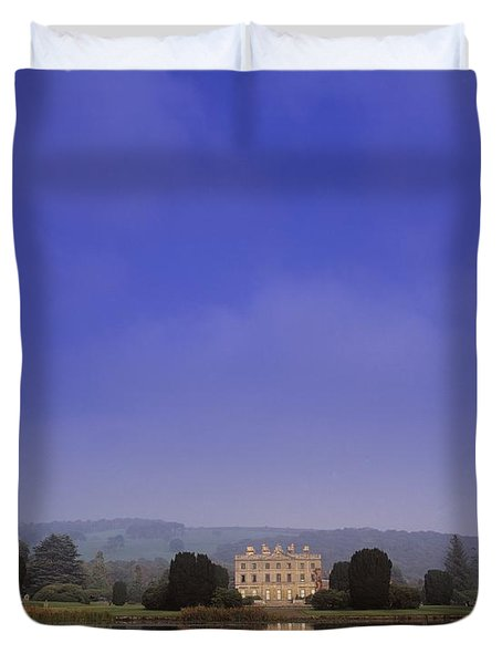 Curraghmore House, Portlaw, Co Duvet Cover by The Irish Image Collection
