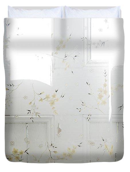 Curtain Duvet Cover by John Greim