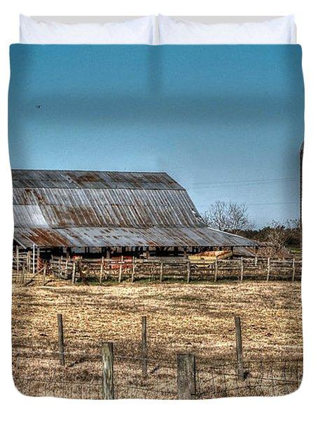 Dairy Barn Duvet Cover by Michael Thomas