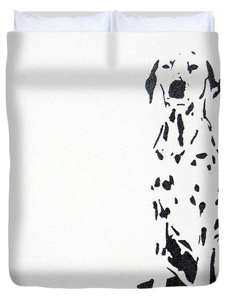 Dalmatian Duvet Cover by Michael Ringwalt