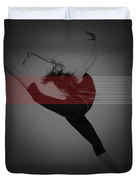 Dancer Duvet Cover by Naxart Studio