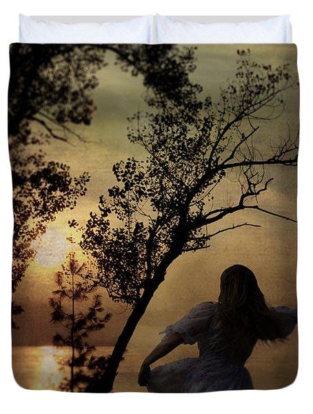 Dancing Girl Duvet Cover by Joana Kruse