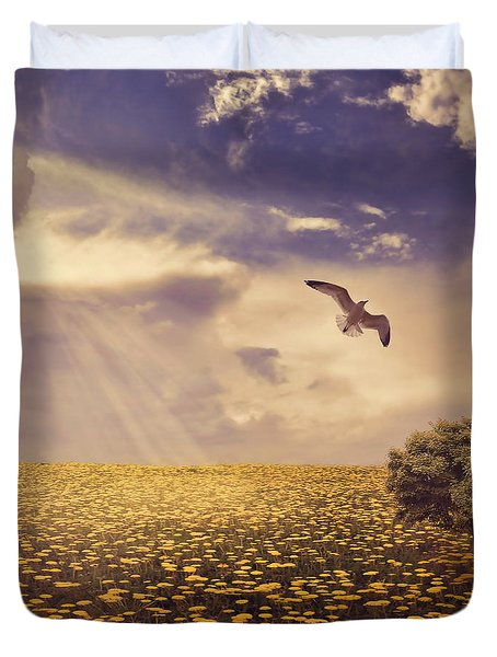 Daydream Duvet Cover by Lourry Legarde