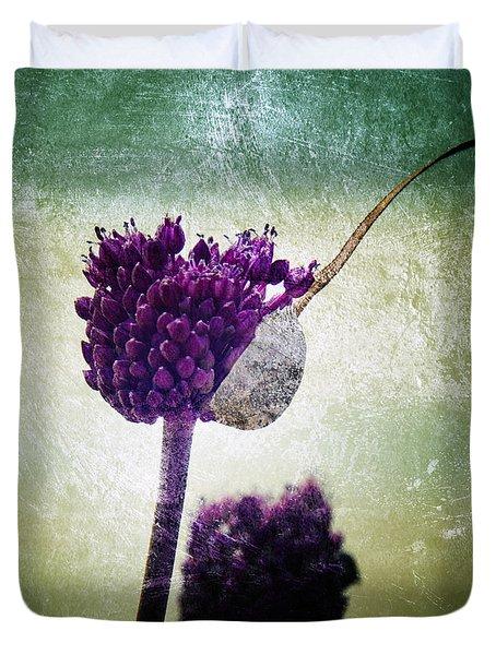 Delicate Duvet Cover by Stelios Kleanthous