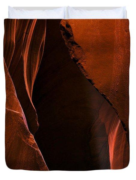 Desert Beam Duvet Cover by Mike  Dawson