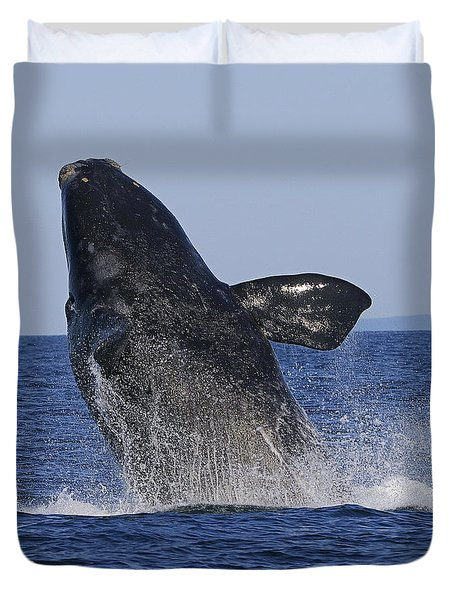 Discovering Another Dimension Duvet Cover by Tony Beck