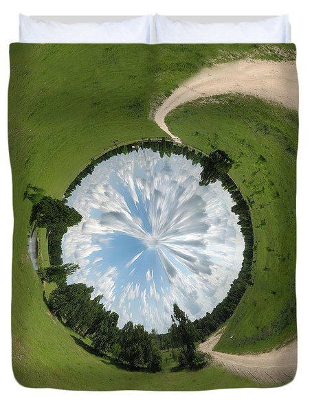 Dome of the Sky Duvet Cover by Nikki Marie Smith