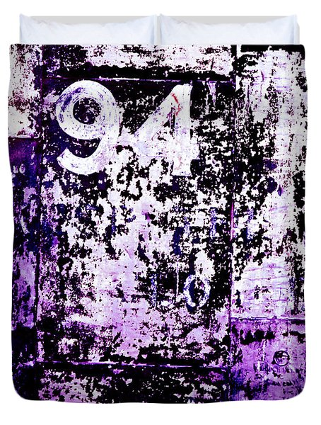 Door 94 Perception Duvet Cover by Bob Orsillo