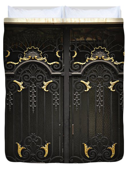Doors Duvet Cover by Elena Elisseeva