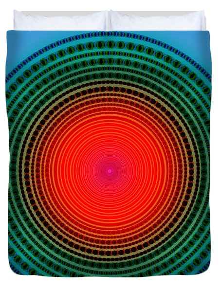 dots x-ray Duvet Cover by ATIKETTA SANGASAENG