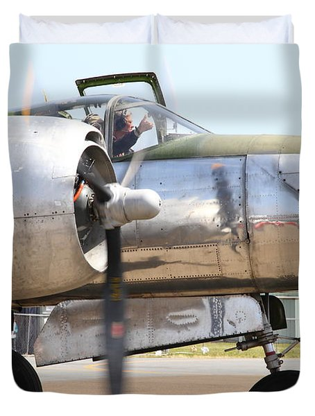 Douglas A26B Military Aircraft 7d15763 Duvet Cover by Wingsdomain Art and Photography