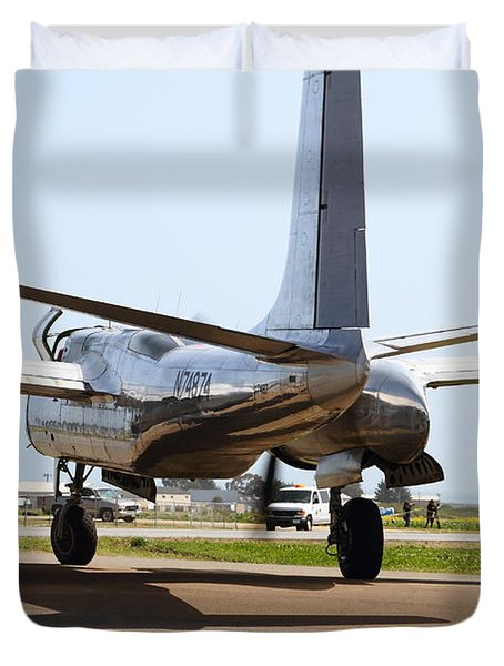 Douglas A26B Military Aircraft 7d15764 Duvet Cover by Wingsdomain Art and Photography