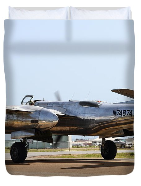 Douglas A26B Military Aircraft 7d15767 Duvet Cover by Wingsdomain Art and Photography