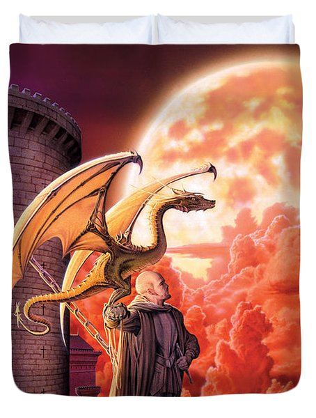 Dragon Lord Duvet Cover by The Dragon Chronicles - Robin Ko