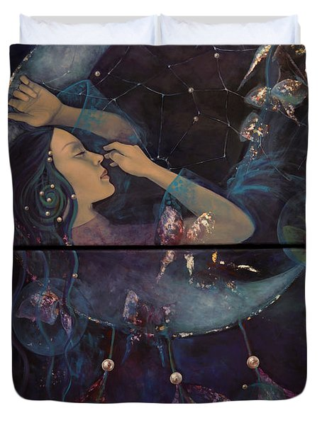 Dream Catcher Duvet Cover by Dorina  Costras