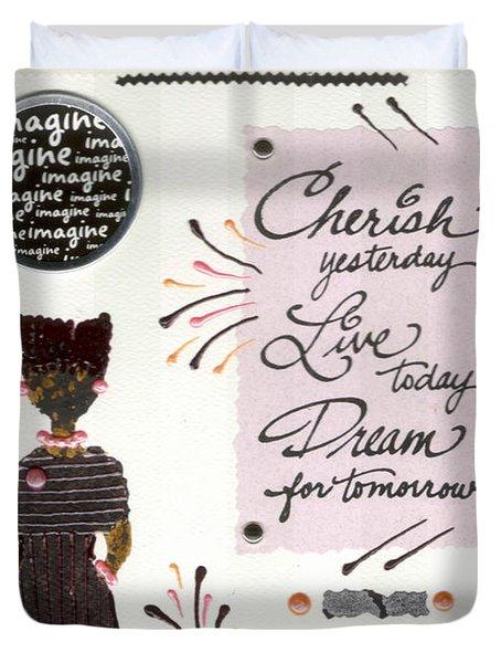 Dream For Tomorrow Duvet Cover by Angela L Walker