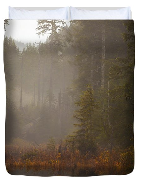 Dream Of Autumn Duvet Cover by Mike Reid