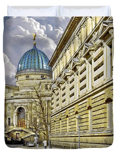 Dresden Academy of Fine Arts Duvet Cover by Christine Till