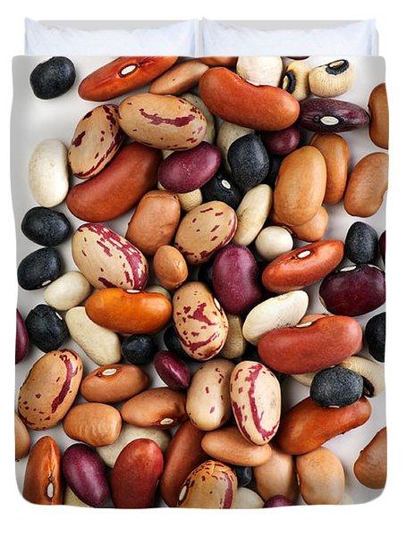 Dry beans Duvet Cover by Elena Elisseeva