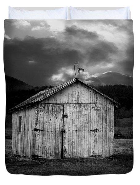 Dry Storm Duvet Cover by Ron Jones