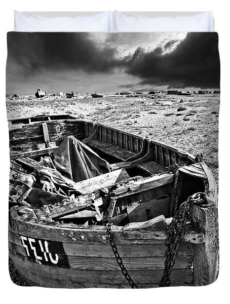 Dungeness Decay Duvet Cover by Meirion Matthias