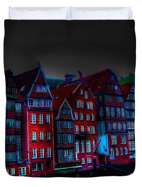 Dyke Road  -  Hamburg Duvet Cover by EricaMaxine  Price