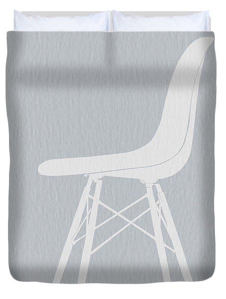 Eames Fiberglass Chair Duvet Cover by Naxart Studio