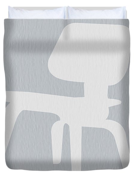 Eames Plywood Chair Duvet Cover by Naxart Studio