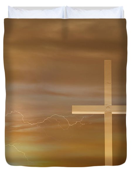 Easter Sunrise Duvet Cover by James BO  Insogna