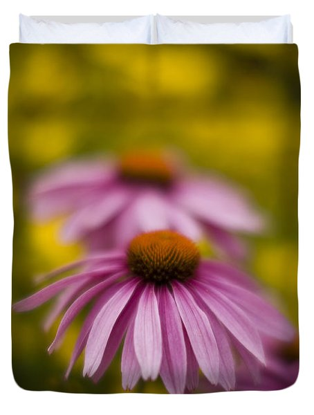Echinacea Dreamy Duvet Cover by Mike Reid