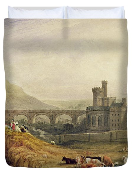 Edinburgh Duvet Cover by Thomas Brabazon Aylmer