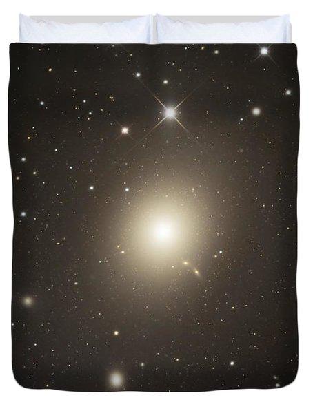 Elliptical Galaxy Messier 87 Duvet Cover by Robert Gendler