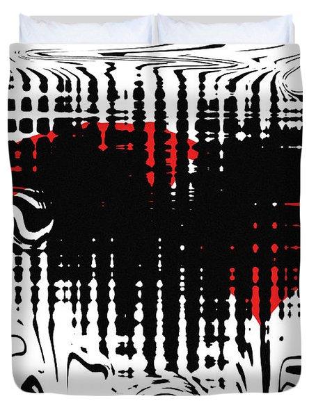 Emotion Duvet Cover by David Dehner