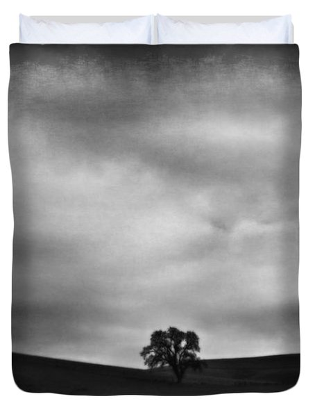 Emptiness Duvet Cover by Laurie Search