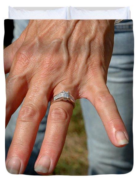 Engaged Duvet Cover by LeeAnn McLaneGoetz McLaneGoetzStudioLLCcom