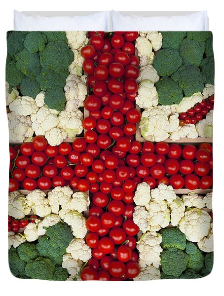 England Duvet Cover by Axiom Photographic