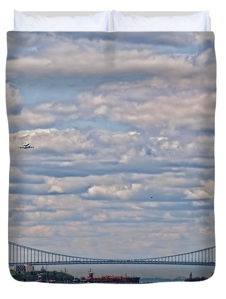 Enterprise 2 Duvet Cover by S Paul Sahm