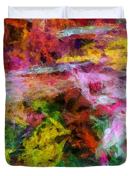 Entusiasmo Duvet Cover by RochVanh