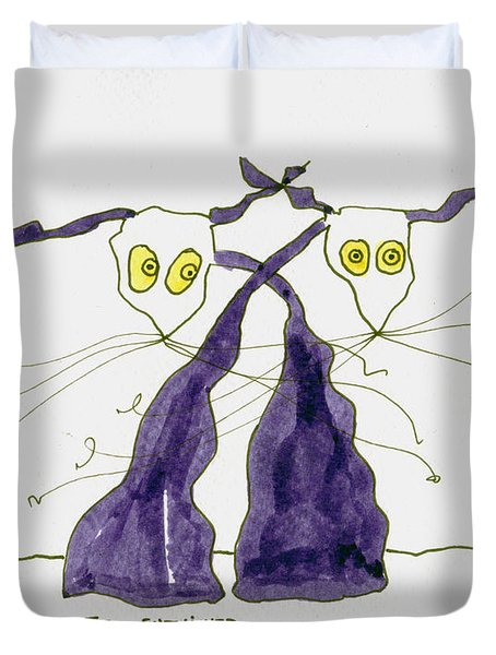 Entwined Duvet Cover by Tis Art