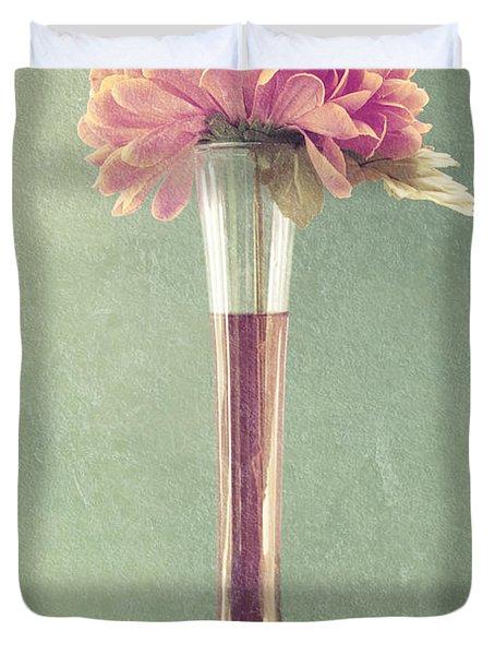 Estillo Vase - s01t04 Duvet Cover by Variance Collections