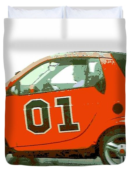 European General Lee Duvet Cover by George Pedro