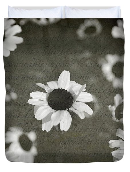 Even In Darker Days Duvet Cover by Laurie Search