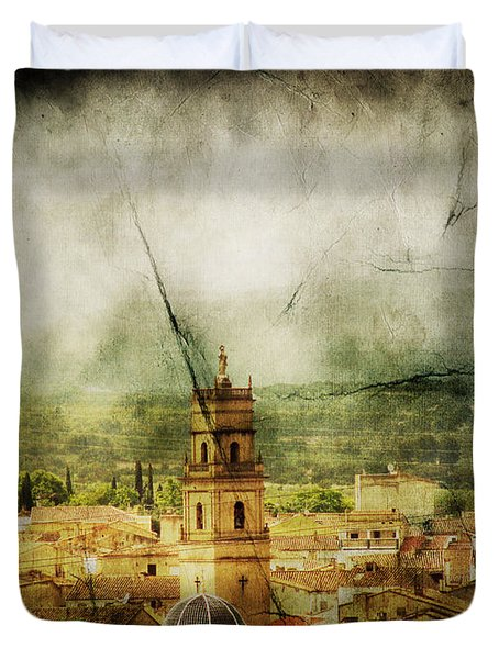 Existent Past Duvet Cover by Andrew Paranavitana