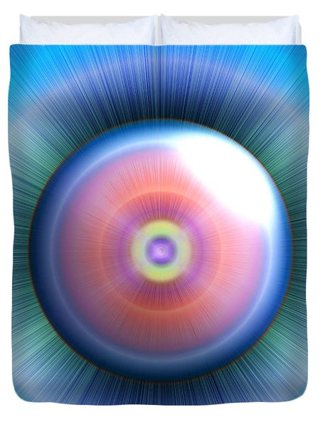 Eye Duvet Cover by Nicholas Burningham